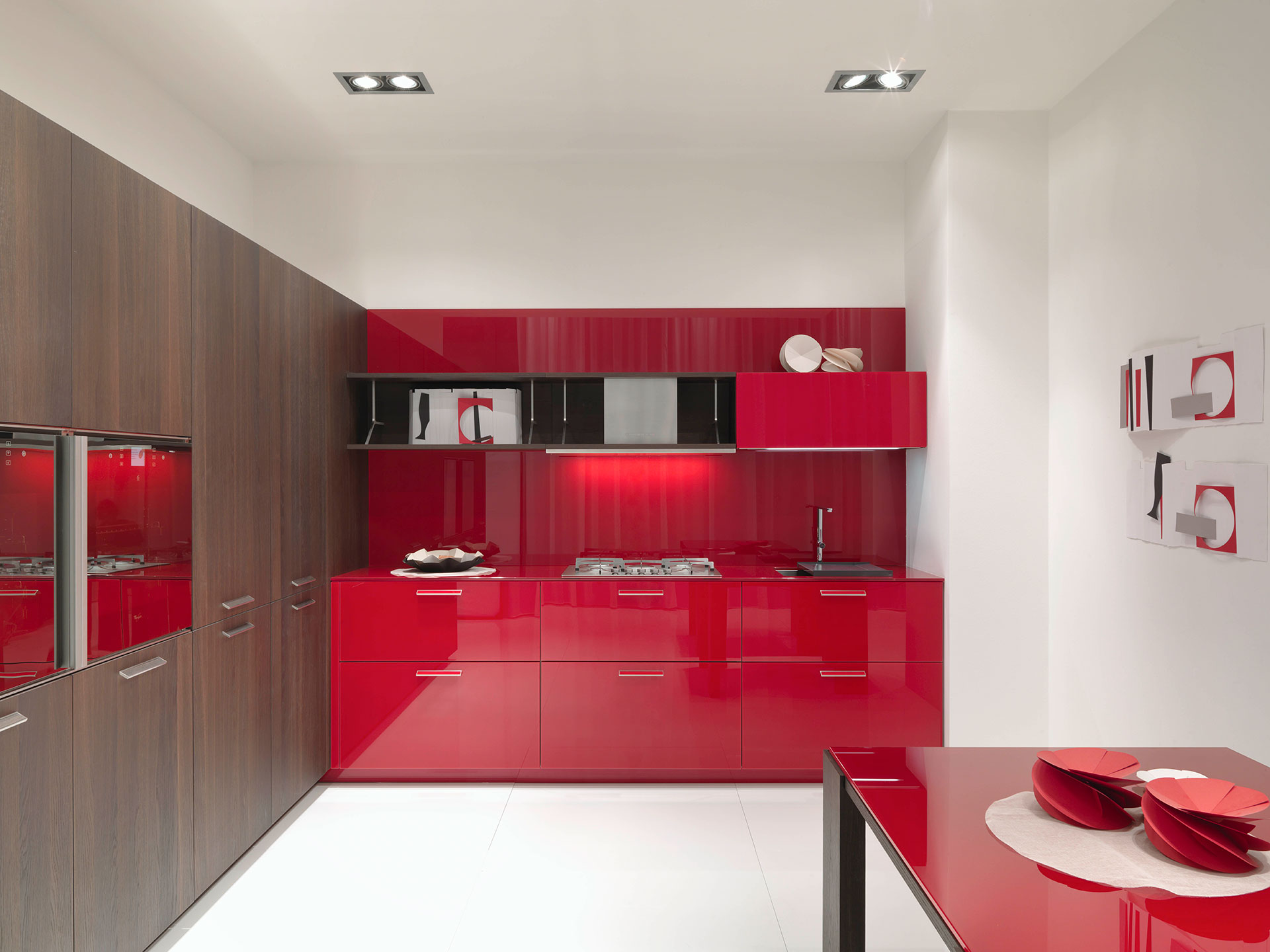 Noblesse oblige by aster cucine habitat by aeon for Aster cucine kitchen cabinets