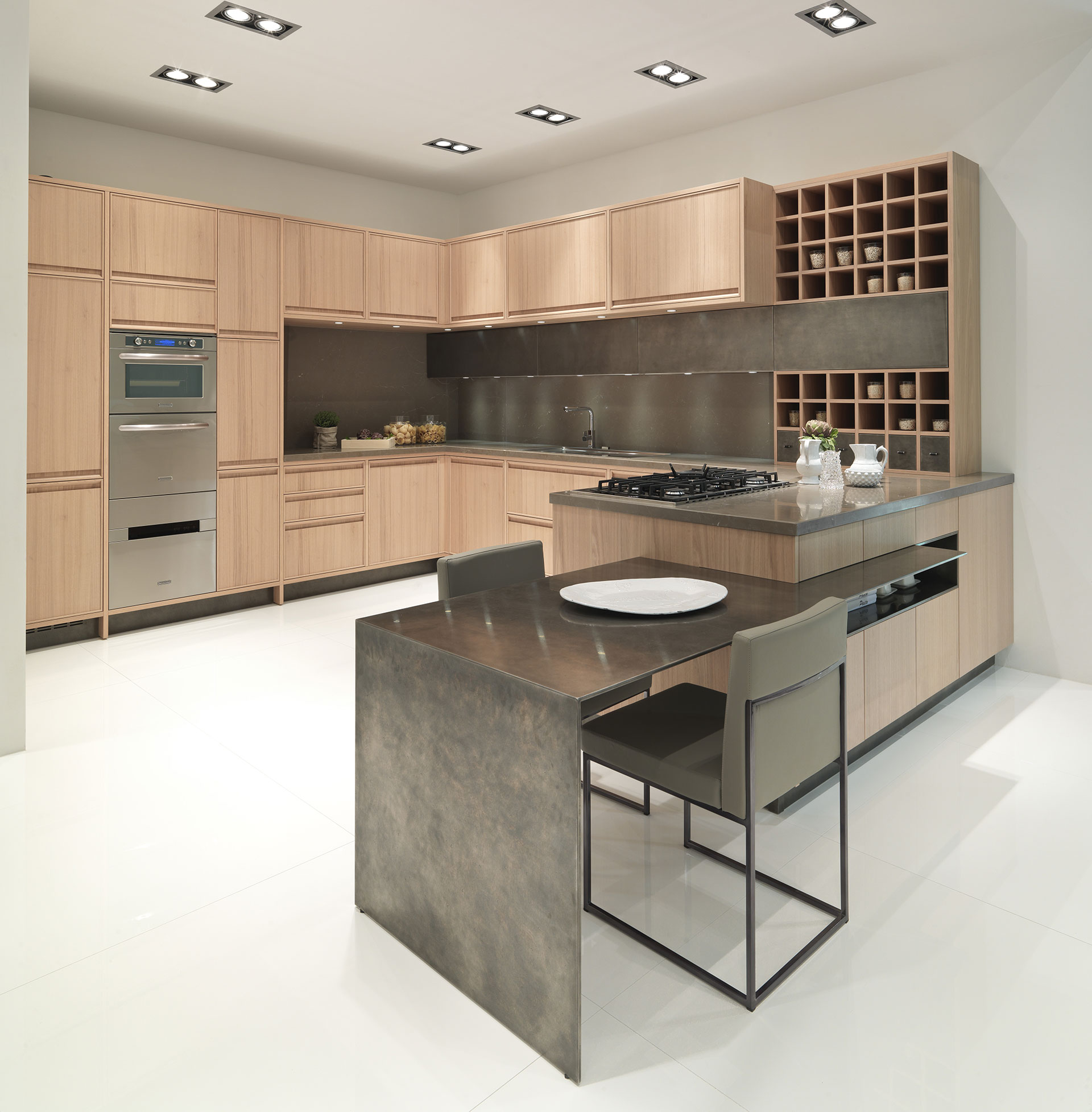 Timeline by aster cucine habitat by aeon for Aster cucine kitchen cabinets